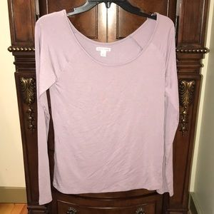 Mel rose and Market long sleeve top s M